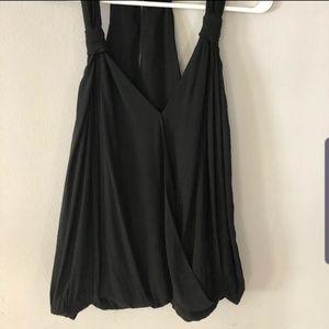 Zara faux wrap flowy top